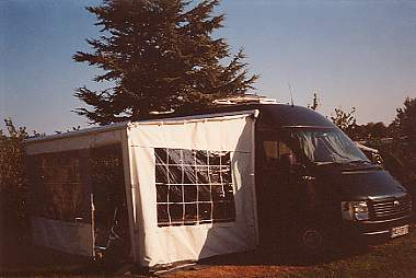 Gammelbro-Campingplatz in Aarösmund