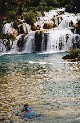 Krha-Wasserfälle