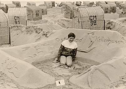 Beim Burgenwettbewerb 1961 in Kellenhusen