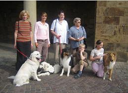 Gruppenbild in Minden mit Dame aus Südafrika